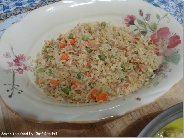 Asian Rice with Almonds