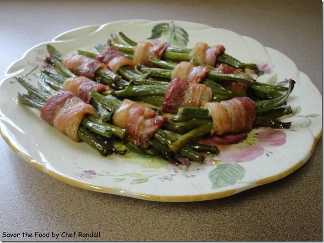 Bacon Wrapped Grean Beans