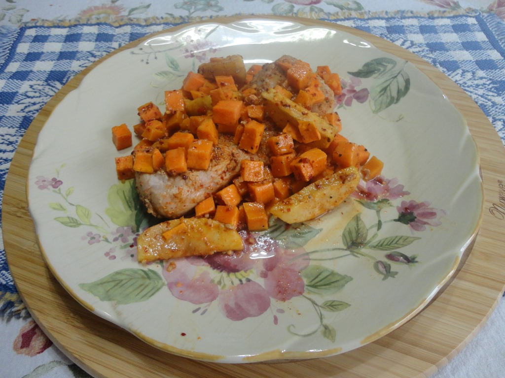 Roasted Pork Tenderloin with Pears and Butternut Squash | Recipes for ...