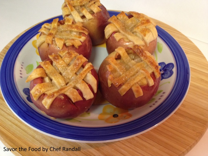 Baked Apples Apple pie