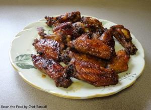 Brown Sugar Finger Wings
