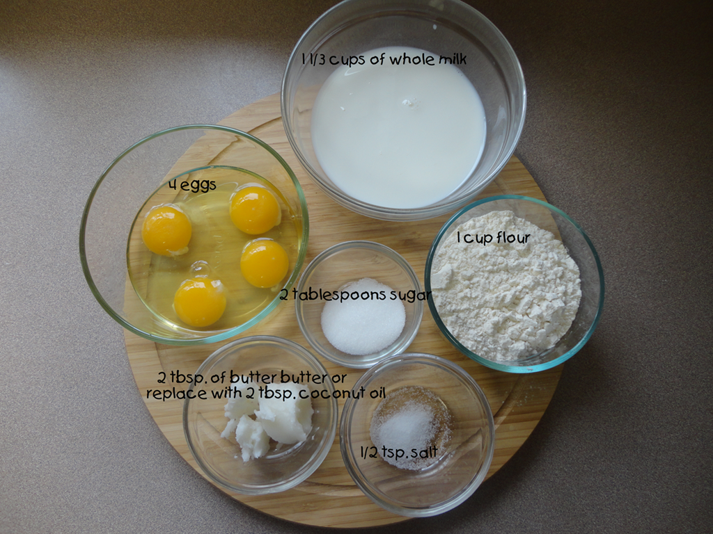how to make crepes ingredients