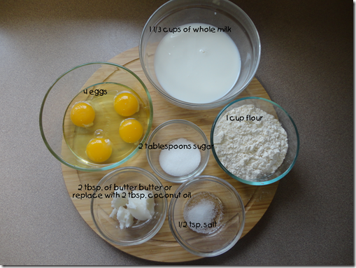 crepes ingredients