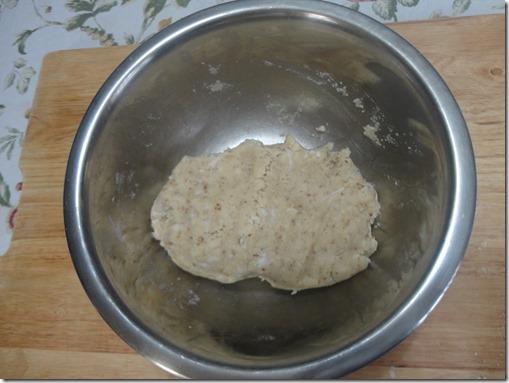 prepared dough for Sweet Milk Sandwich Cookies