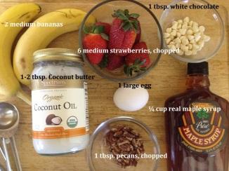 Fruit and Nut Sensation ingredients