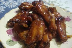 Raspberry Chicken Wings