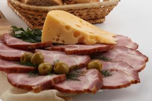 cold cuts and cheese for informal gatherings
