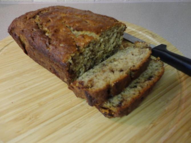 Moist Banan Bread
