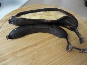 extra ripe bananas