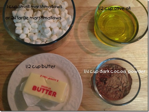 First ingredients needed  for Chocolate Mexican Cake