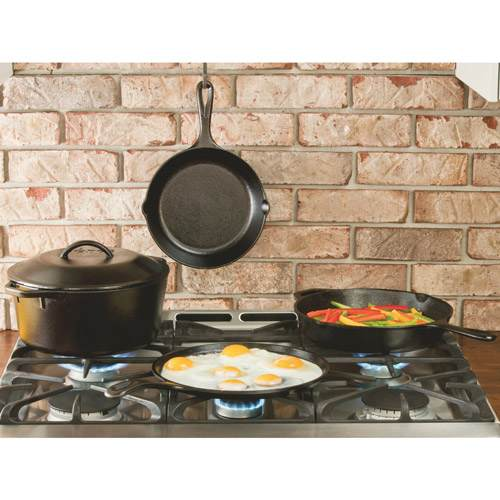 Lodge Cast Iron 5 Piece Set