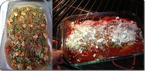 preparing Anit Pasat Asian Lasagna 2