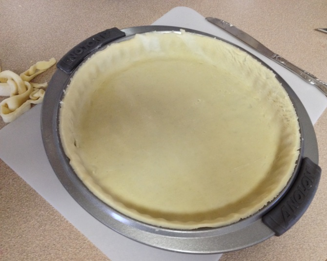 raw pie crust