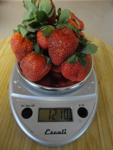 12 oz. strawberries