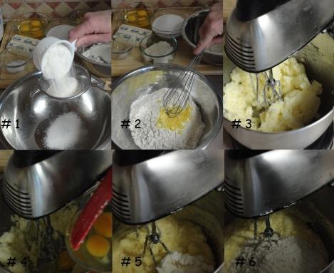 order of mixing Strawberry Yogart Cake