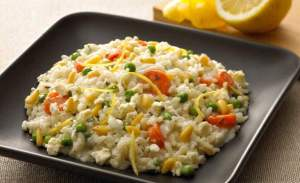 Primavera Veg Risotto With Lemon