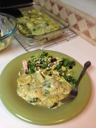 Spinach Ravioli Lasagna (2)