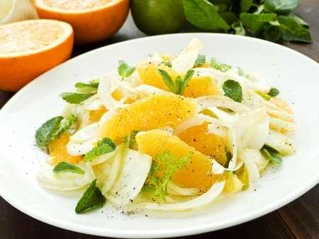 Orange, Fennel and Mint Salad