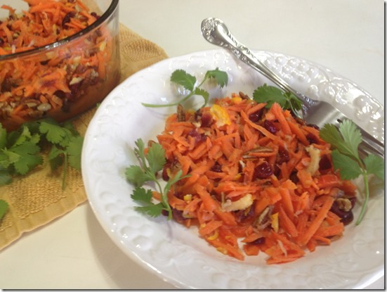 -Carrot Cranberry Salad-