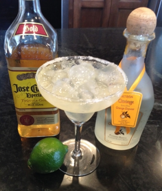 Classic Margarita on the Rocks