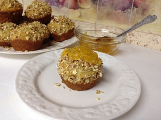 Toasted Whole grain Orange Muffins