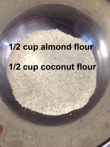 almond and coconut flour