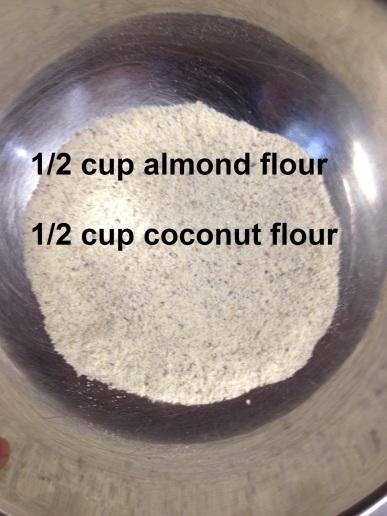 almond and coconut flour