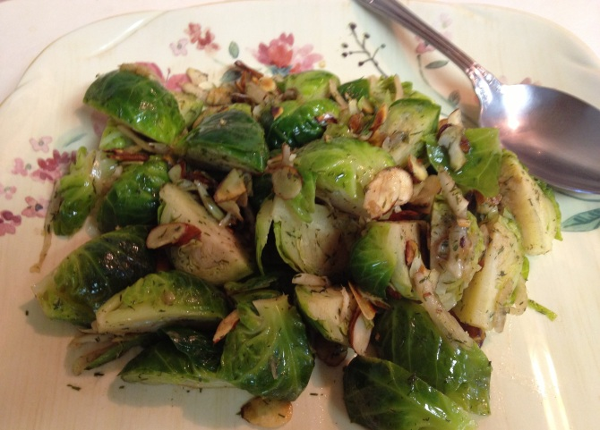 Brown Butter and Brussels Sprout with Fennel