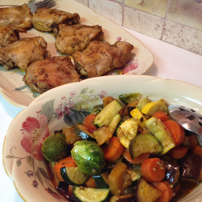 Citrus Herb Roasted Vegetables