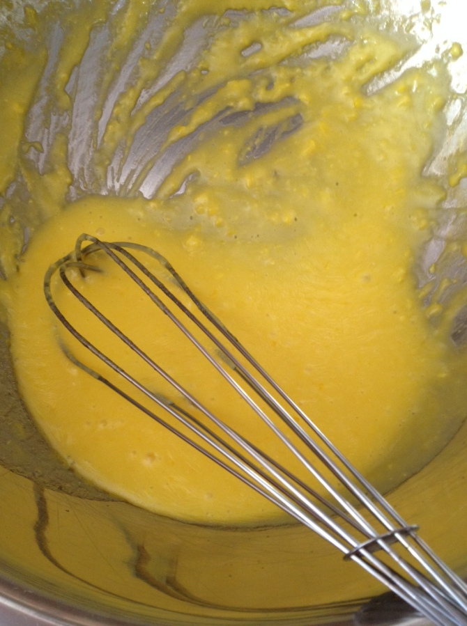 preparing Hollandaise Sauce