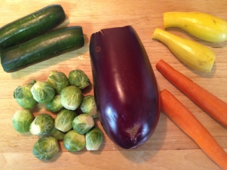 vegetables neede for Citrus Herb Roasted Vegetables