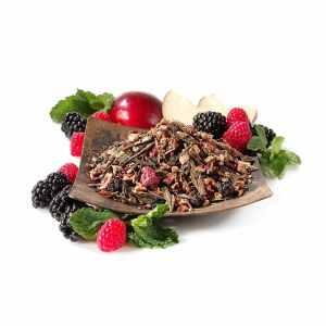 blackberry mojito loose leaf green tea