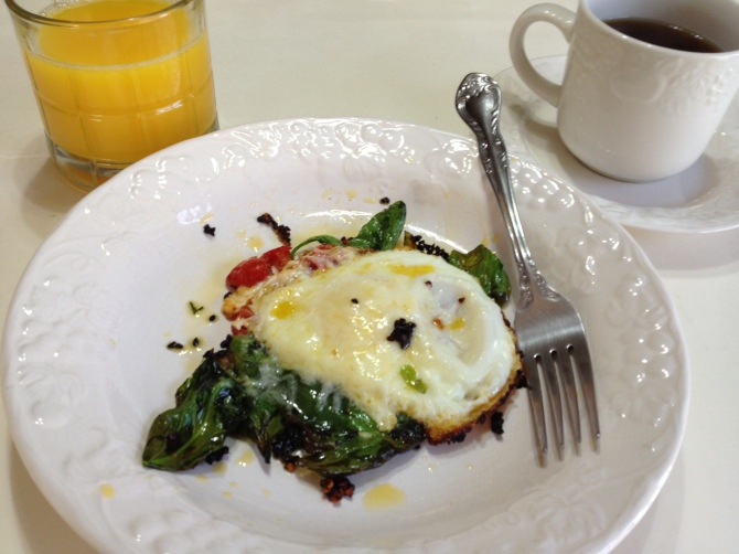 High Protein Egg -Spinach Combo(2)