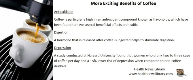 More Exciting Benefits of Coffee