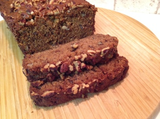 Pecan Buttermilk Banana Bread
