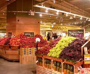Whole Foods Market selling organic foods