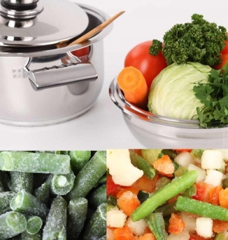 Blanching and Freezing Your Garden Vegetables
