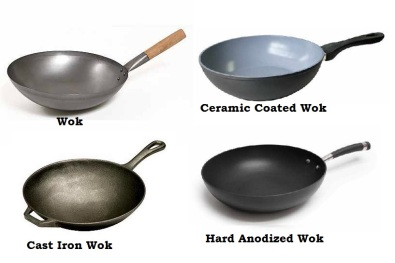 Types of woks for Cooking a Healthy Stir Fry