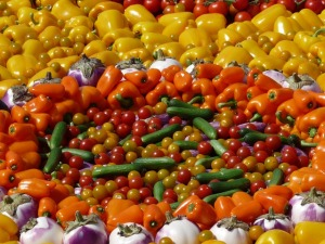 vegetables- peppers - Bell peppers - Vegetables - Natures Perfect Food