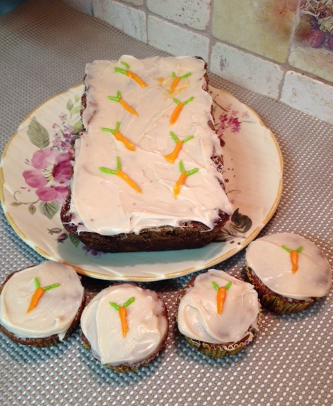 Gluten free Tropical Carrot Cake - Dessert Bread and Cupcakes