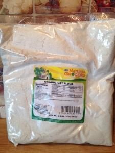 Oat flour alternative to wheat flour