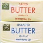 salted or unsalted butter