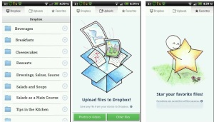 Smart Phone and dropbox
