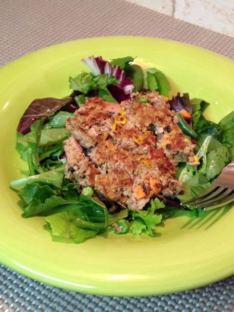 Plated Quinoa Tuna Patties