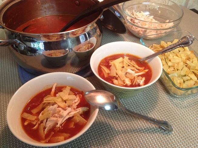 Chicken Tortilla Soup (2)