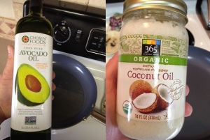 Oils to Use for Healthy Cooking - avocado oil or coconut oil