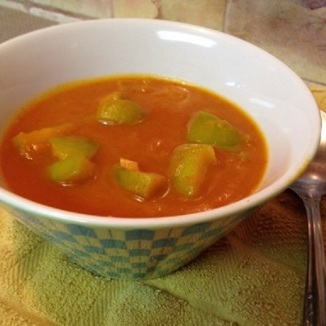 Curried Apple-Pumpkin Soup
