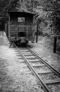 train wagon in the concentration camps of 1933 to 1945