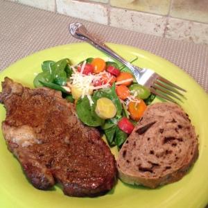 Caribbean Spiced Rubbed Beef Rib Steak