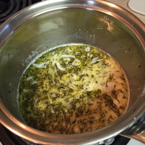 milk-butter mix for - Garlic and Thyme Mashed Potatoes